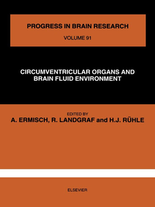 Ebook in inglese CIRCUMVENTRICULAR ORGANS AND BRAIN FLUID ENVIRONMENT -, -
