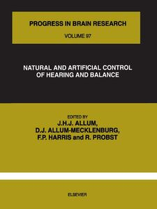 Foto Cover di NATURAL AND ARTIFICIAL CONTROL OF HEARING AND BALANCE, Ebook inglese di  edito da Elsevier Science