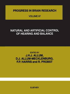 Ebook in inglese NATURAL AND ARTIFICIAL CONTROL OF HEARING AND BALANCE -, -