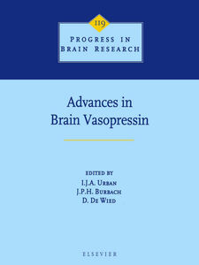 Foto Cover di Advances in Brain Vasopressin, Ebook inglese di AA.VV edito da Elsevier Science