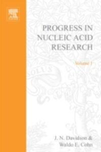 Foto Cover di PROG NUCLEIC ACID RES&MOLECULAR BIO V1, Ebook inglese di  edito da Elsevier Science
