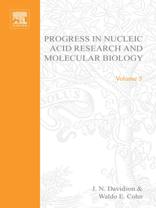 Ebook in inglese PROG NUCLEIC ACID RES&MOLECULAR BIO V5 -, -