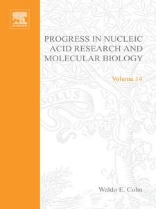 Ebook in inglese PROG NUCLEIC ACID RES&MOLECULAR BIO V14 -, -