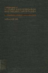 PROG NUCLEIC ACID RES&MOLECULAR BIO V20