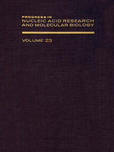 Ebook in inglese PROG NUCLEIC ACID RES&MOLECULAR BIO V23 -, -
