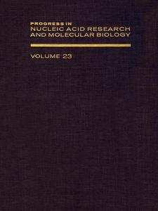 Ebook in inglese PROG NUCLEIC ACID RES&MOLECULAR BIO V23 -, -