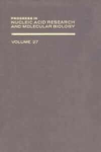 Ebook in inglese PROG NUCLEIC ACID RES&MOLECULAR BIO V27