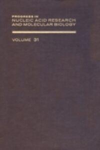 Foto Cover di PROG NUCLEIC ACID RES&MOLECULAR BIO V31, Ebook inglese di  edito da Elsevier Science