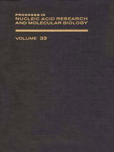 Ebook in inglese PROG NUCLEIC ACID RES&MOLECULAR BIO V33 -, -
