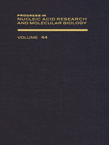 Ebook in inglese PROG NUCLEIC ACID RES&MOLECULAR BIO V44 -, -