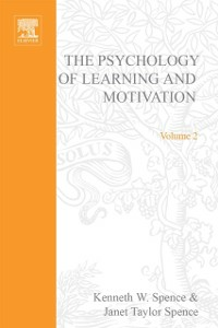 Ebook in inglese PSYCHOLOGY OF LEARNING&MOTIVATION:V.2 -, -