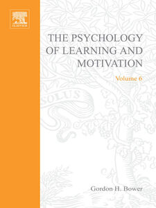 Ebook in inglese PSYCHOLOGY OF LEARNING&MOTIVATION