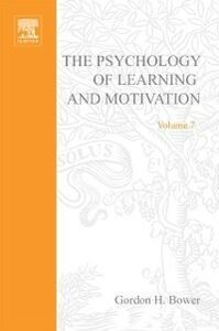 Foto Cover di PSYCHOLOGY OF LEARNING&MOTIVATION:V.7, Ebook inglese di  edito da Elsevier Science
