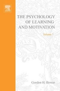 Ebook in inglese PSYCHOLOGY OF LEARNING&MOTIVATION:V.7 -, -