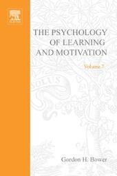 PSYCHOLOGY OF LEARNING&MOTIVATION:V.7