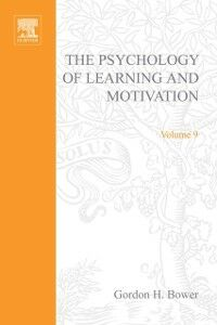 Foto Cover di PSYCHOLOGY OF LEARNING&MOTIVATION:V.9, Ebook inglese di  edito da Elsevier Science