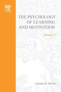 Ebook in inglese PSYCHOLOGY OF LEARNING&MOTIVATION:V19 -, -
