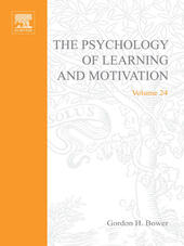 PSYCHOLOGY OF LEARNING&MOTIVATION V24