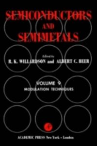 Ebook in inglese SEMICONDUCTORS & SEMIMETALS V9 -, -
