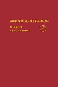 Ebook in inglese SEMICONDUCTORS & SEMIMETALS V12 -, -