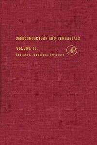 Foto Cover di SEMICONDUCTORS & SEMIMETALS V15, Ebook inglese di  edito da Elsevier Science