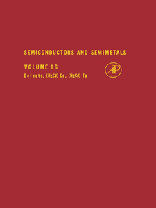 Ebook in inglese SEMICONDUCTORS & SEMIMETALS V16 -, -
