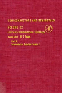 Ebook in inglese SEMICONDUCTORS & SEMIMETALS V22 -, -