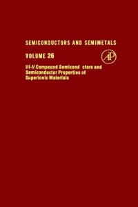 Ebook in inglese SEMICONDUCTORS & SEMIMETALS V26 -, -