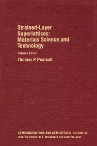 Ebook in inglese Materials Science and Technology: Strained-Layer Superlattices -, -