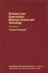 Materials Science and Technology: Strained-Layer Superlattices
