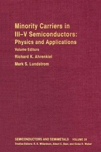Ebook in inglese SEMICONDUCTORS & SEMIMETALS V39