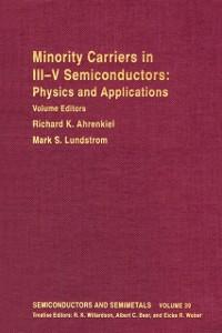 Ebook in inglese SEMICONDUCTORS & SEMIMETALS V39 -, -