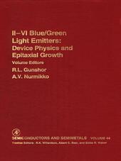 Ii-Vi Semiconductor Blue/Green Light Emitters
