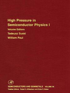 Ebook in inglese High Pressure Semiconductor Physics I -, -