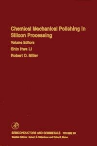 Foto Cover di Chemical Mechanical Polishing in Silicon Processing, Ebook inglese di  edito da Elsevier Science