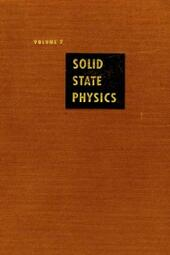 Solid State Physics V7