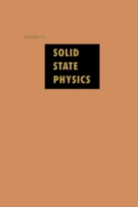 Ebook in inglese Solid State Physics V10 -, -