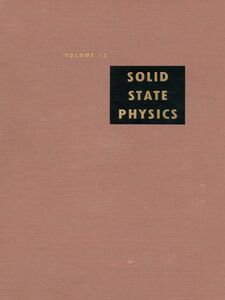 Ebook in inglese Solid State Physics V12