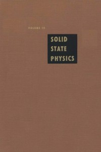 Ebook in inglese Solid State Physics V13 -, -