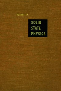 Ebook in inglese Solid State Physics V19 -, -