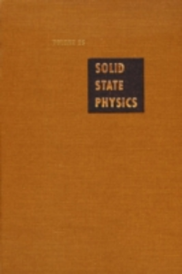 Ebook in inglese Solid State Physics V25 -, -