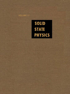 Ebook in inglese Solid State Physics V31