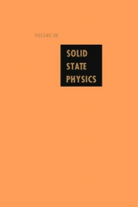 Ebook in inglese Solid State Physics V38 -, -