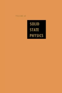 Ebook in inglese Solid State Physics V43 -, -