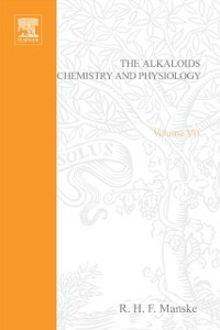 Ebook in inglese Alkaloids: Chemistry and Physiology V7 -, -