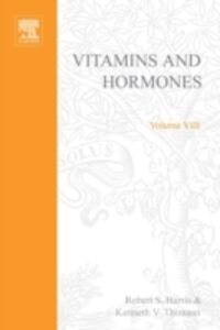 Ebook in inglese VITAMINS AND HORMONES V8