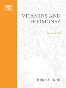 Ebook in inglese VITAMINS AND HORMONES V32 -, -
