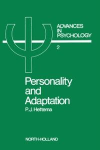 Ebook in inglese Personality and adaptation -, -