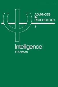 Ebook in inglese Intelligence Vroon, P.A.