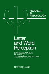 Ebook in inglese Letter and word perception